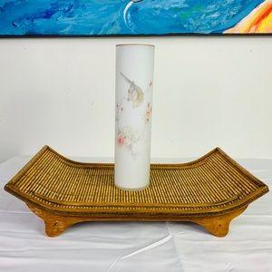 Asian Bamboo Style Tray 🌿